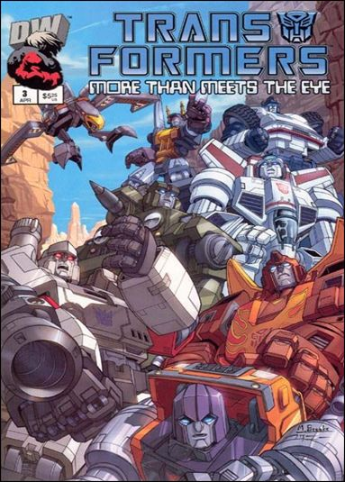 Transformers: More Than Meets the Eye (2003) 3-A by Dreamwave