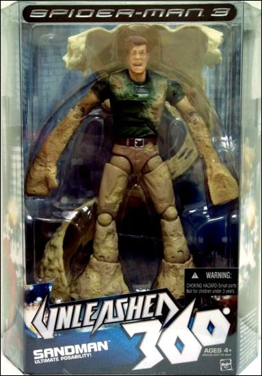 Spider-Man 3 Unleashed 360 Sandman, Jan 2008 Action Figure ...