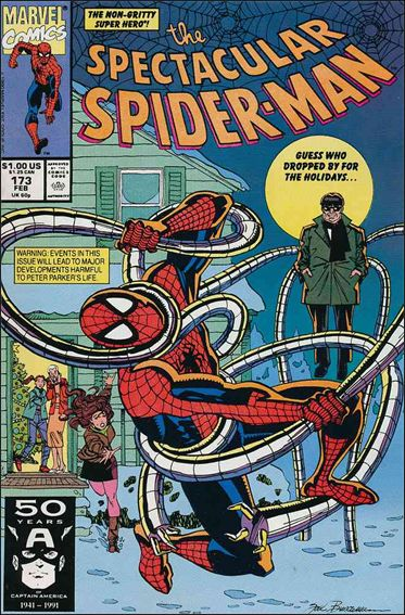 Spectacular Spider-Man (1976) 173-A by Marvel