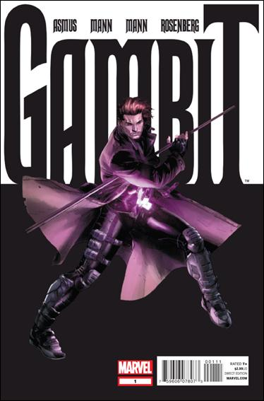 Gambit (2012) 1-A by Marvel
