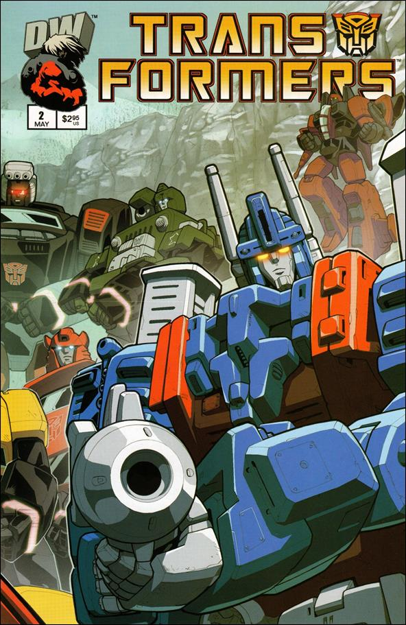 Transformers: Generation 1 (2003) 2-B by Dreamwave