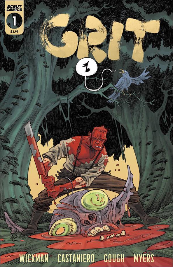 Grit 1-B by Scout Comics