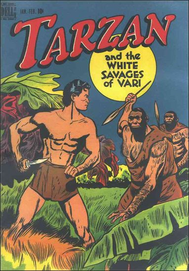 Tarzan (1948) 1-A by Dell
