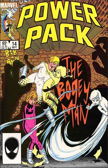 Power Pack (1984) 14-A by Marvel