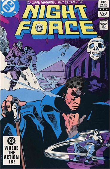 Night Force (1982) 5-A by DC