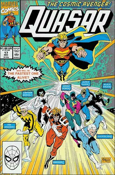 Quasar 17-A by Marvel