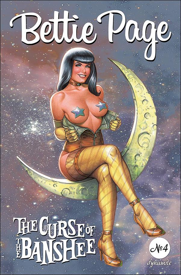 Bettie Page: The Curse of the Banshee 4-B by Dynamite Entertainment