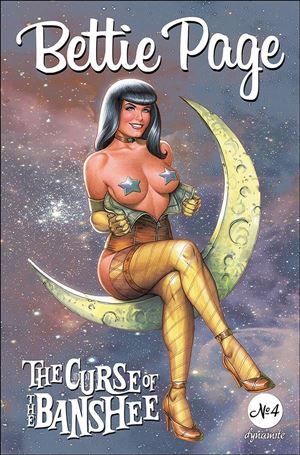 Bettie Page: The Curse of the Banshee 4-B