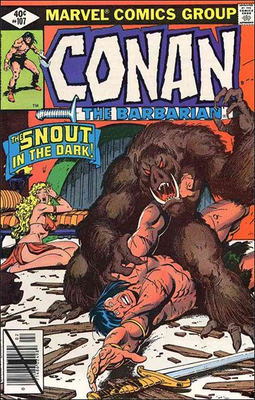 Conan the Barbarian (1970) 107-A by Marvel