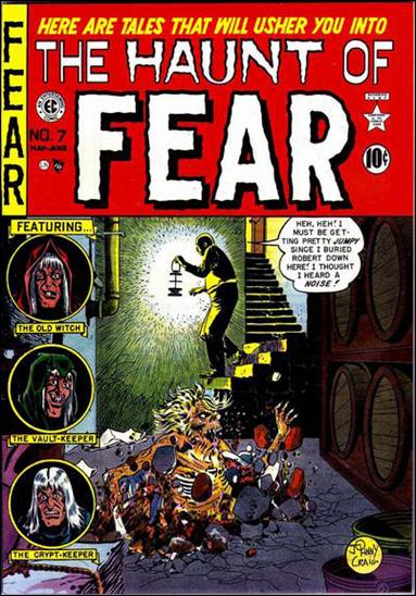 Haunt of Fear (1950) 7-A by E.C.