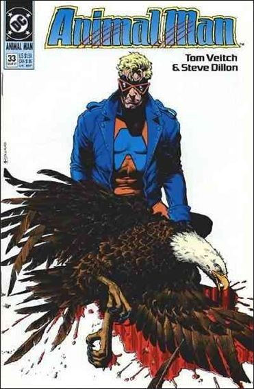 Animal Man (1988) 33-A by Vertigo