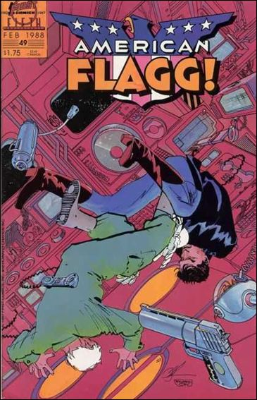 American Flagg! (1983) 49-A by First