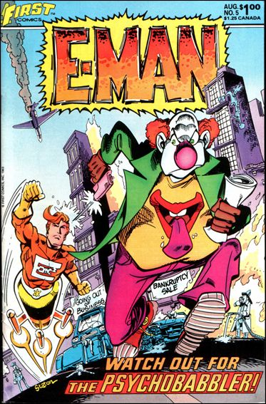E-Man (1983) 5-A by First