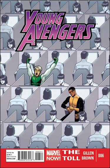 Young Avengers (2013) 6-A by Marvel