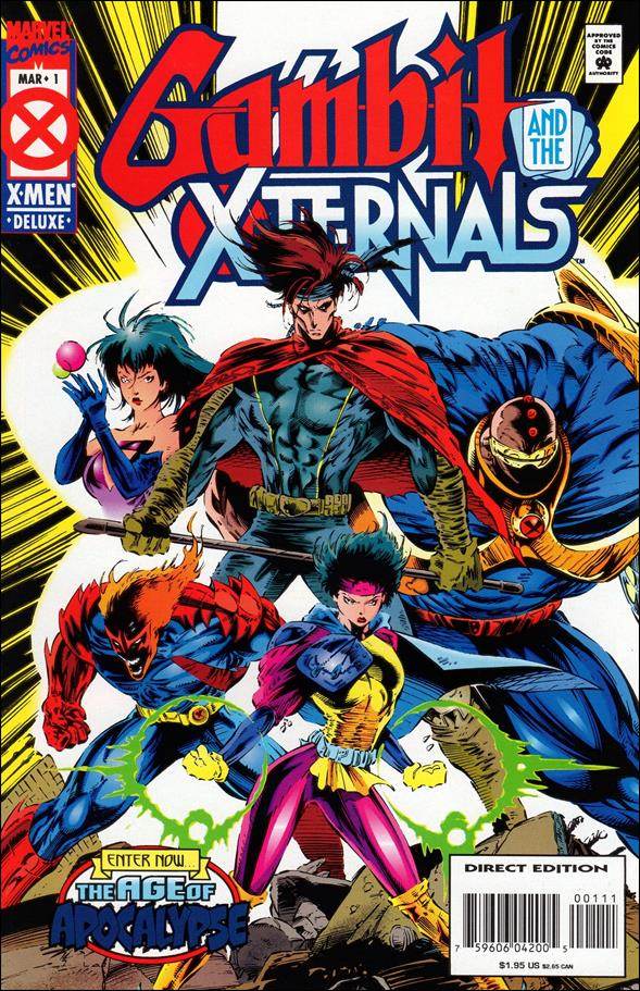 Gambit & the X-Ternals 1-A by Marvel