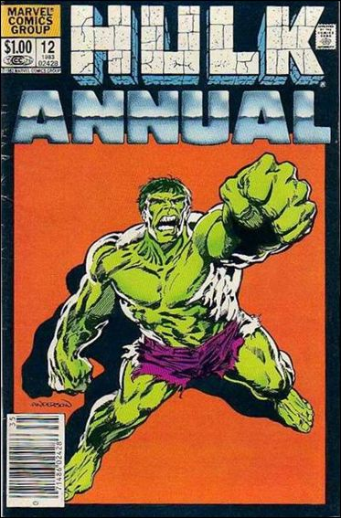 Incredible Hulk Annual  12-A by Marvel