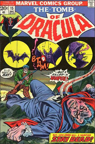 Tomb of Dracula (1972) 15-A by Marvel