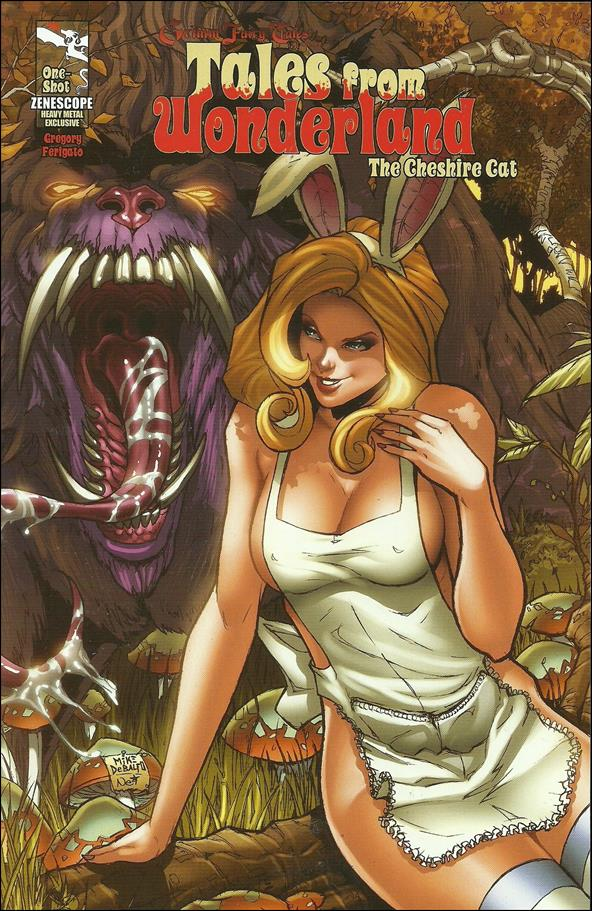 Tales from Wonderland: Cheshire Cat 1-D by Zenescope Entertainment