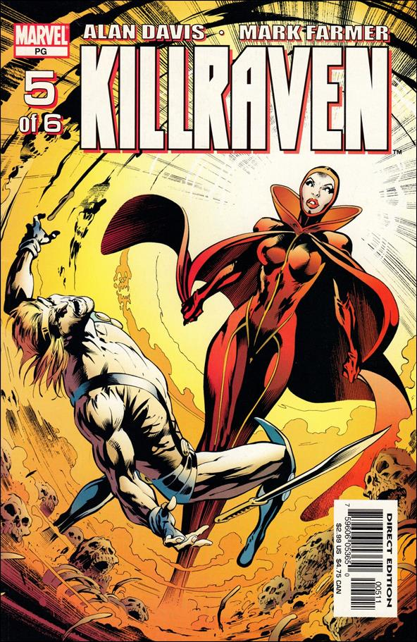 Killraven (2002) 5-A by Marvel