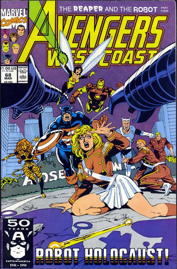 Avengers West Coast 68-A by Marvel