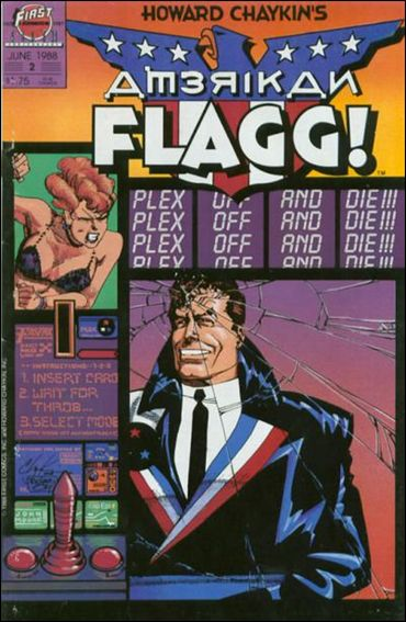 American Flagg! (1988) 2-A by First