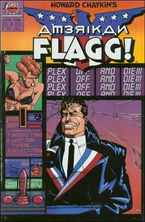 Howard Chaykin's American Flagg!  2-A