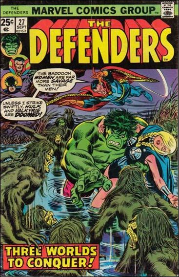 Defenders (1972) 27-A by Marvel