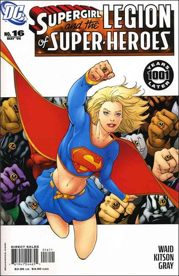 Supergirl and the Legion of Super-Heroes 16-A by DC