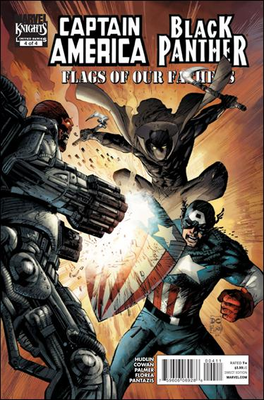 Captain America / Black Panther: Flags of Our Fathers 4-A by Marvel