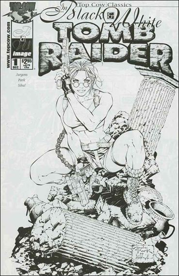Top Cow Classics in Black and White: Tomb Raider 1-A by Top Cow