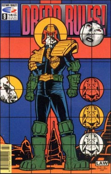 Dredd Rules! 9-A by Fleetway Quality