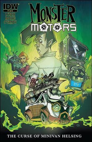 Monster Motors: The Curse of Minivan Helsing 1-A