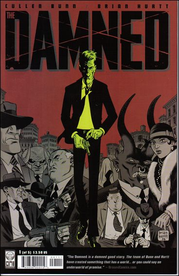 Damned (2006) 1-A by Oni Press