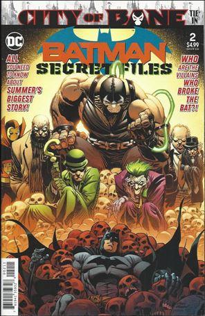 Batman Secret Files (2018) 2-A