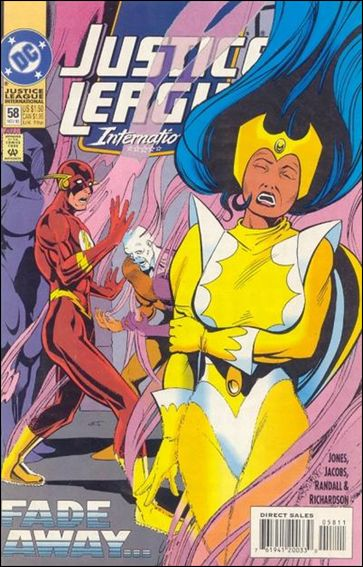 Justice League International (1993)  58-A by DC