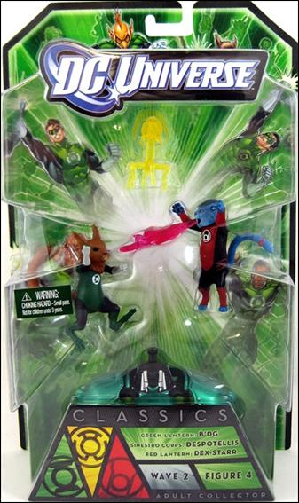 DC Universe Classics: Green Lantern (Wave 02) B'dg, Despotellis and Dex-Starr  by Mattel
