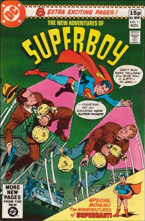 New Adventures of Superboy 11-B