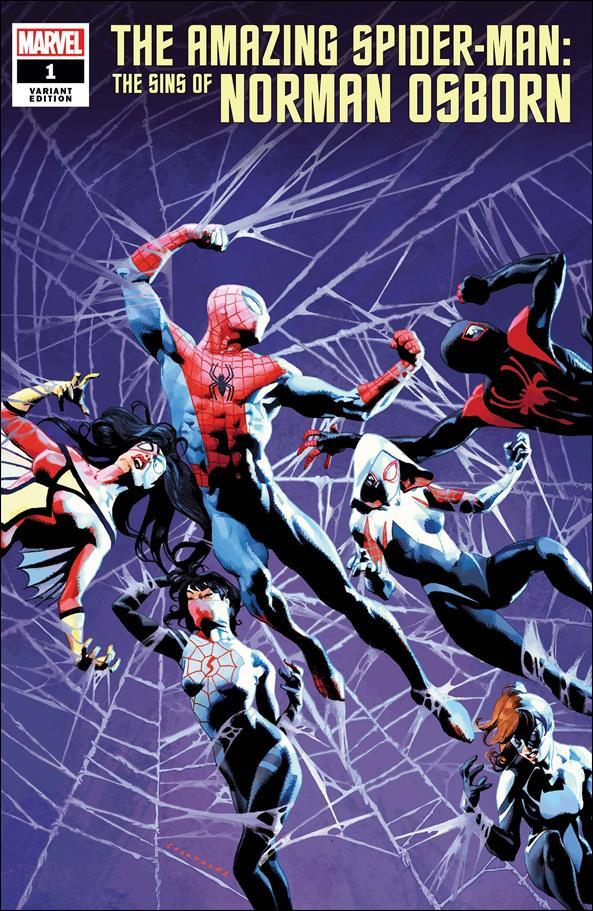 Amazing Spider-Man: The Sins of Norman Osborn 1-B by Marvel