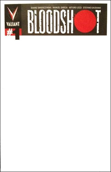 Blank Cover Con Exclusive - Bloodshot / Archer and Armstrong 1-A by Valiant Entertainment