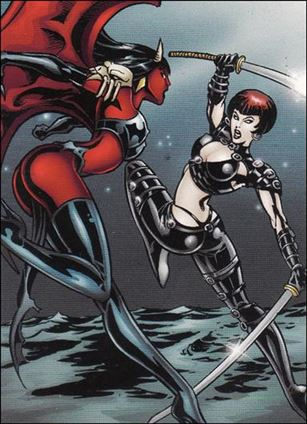Lady Death and the Women of Chaos!: Love Bites (Base Set) 11-A