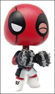 Deadpool Mystery Minis Boxer  1/6  (Target Exclusive) by Funko