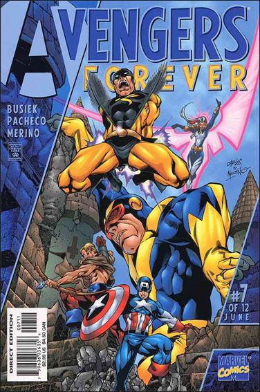 Avengers: Forever 7-A by Marvel