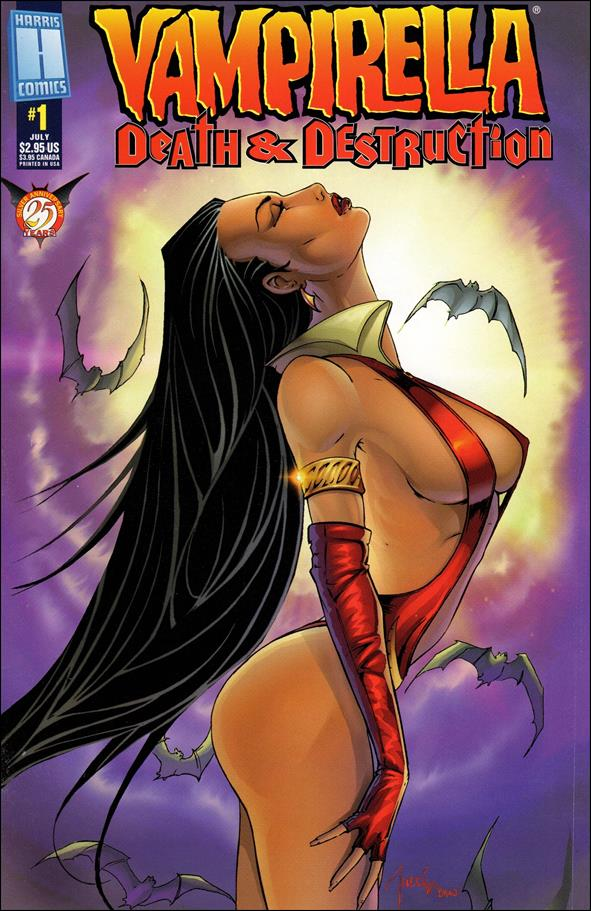 Vampirella: Death & Destruction 1-A by Harris