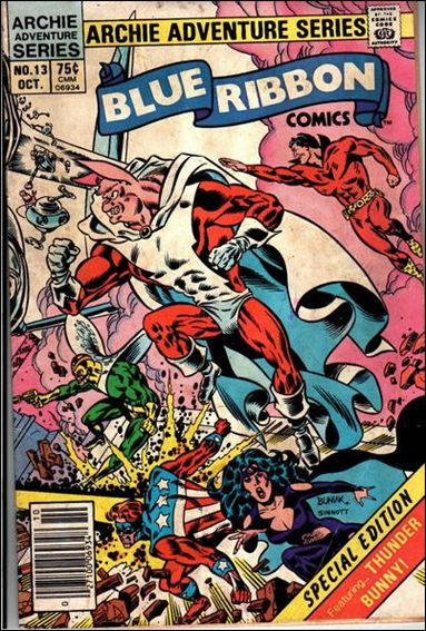 Blue Ribbon Comics (1983) 13-A by Red Circle