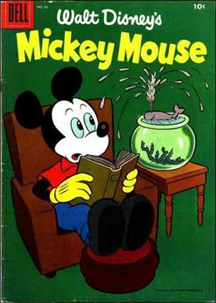 Walt Disney's Mickey Mouse 45-A