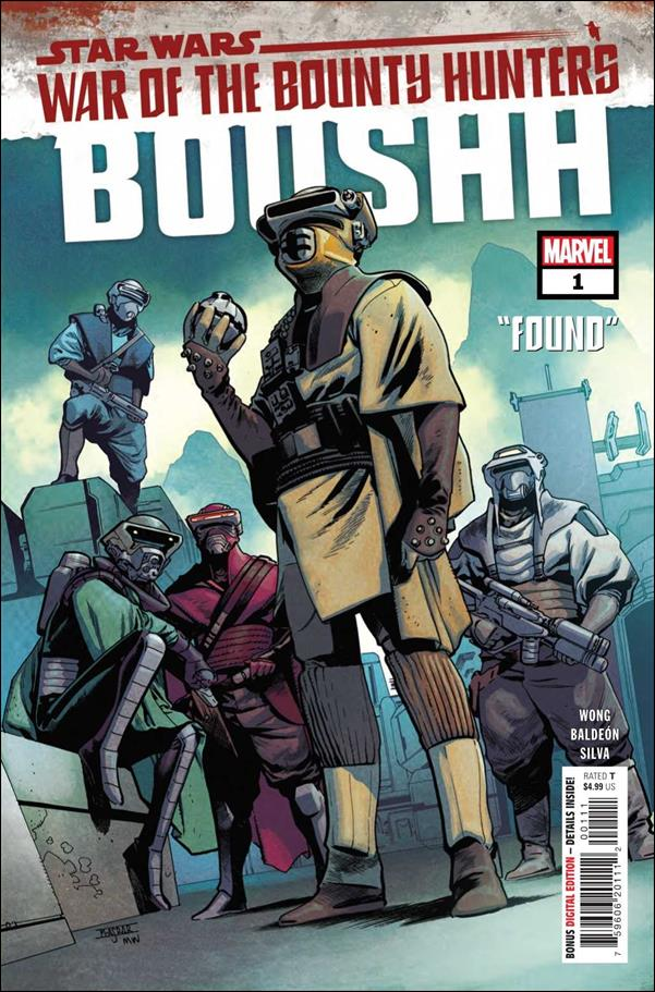 Star Wars: War of the Bounty Hunters - Boushh 1-A by Marvel