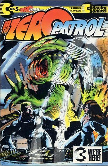Zero Patrol (1987) 5-A by Continuity Comics