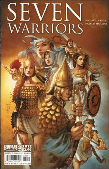 7 Warriors 3-A by Boom! Studios