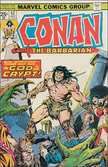 Conan the Barbarian (1970) 52-A by Marvel