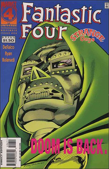 Fantastic Four (1961) 406-A by Marvel